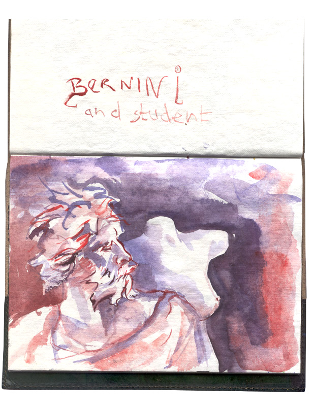 bernini and student
